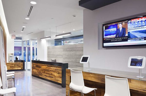 Reception Area at Walt Orthodontics in Vaughan